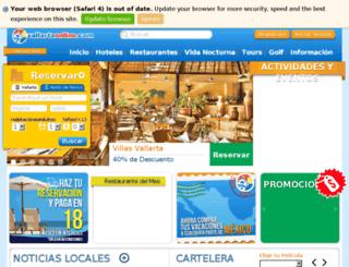 mx.vallartaonline.com screenshot