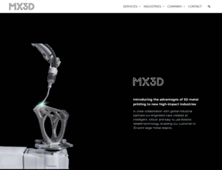mx3d.com screenshot