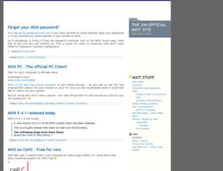 mxit.defza.com screenshot