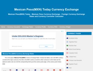 mxn.fx-exchange.com screenshot