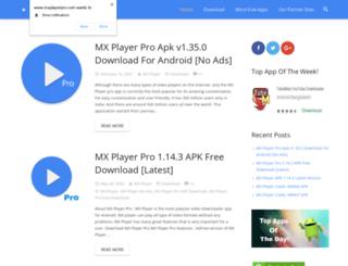 mxplayerpro.com screenshot