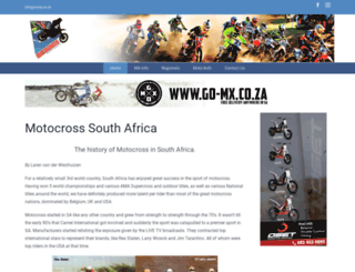 mxsa.co.za screenshot