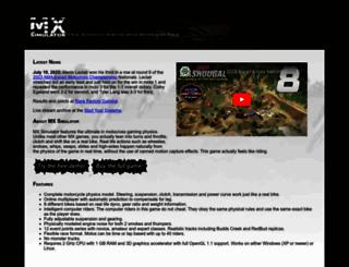 mxsimulator.com screenshot
