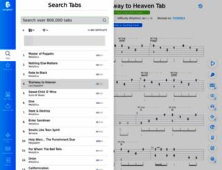 mxtabs.net screenshot