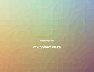mxtoolbox.co.za screenshot