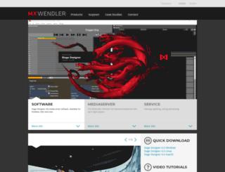 mxwendler.net screenshot
