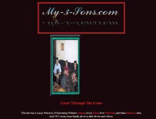 my-3-sons.com screenshot