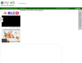 my-art.com screenshot