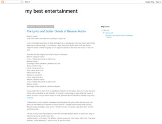 my-best-entertainment.blogspot.com screenshot