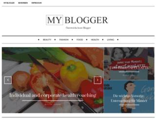 my-blogger.at screenshot