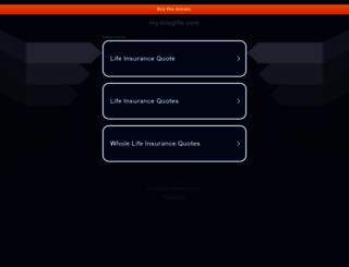 my-bloglife.com screenshot
