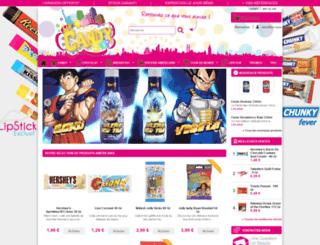 my-candyshop.com screenshot