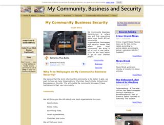 my-community-business-security.org screenshot