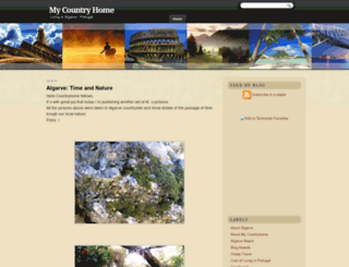 my-countryhome.blogspot.com screenshot