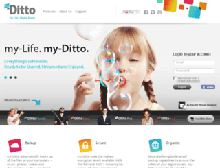 my-ditto.com screenshot