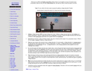 my-english-writing.com screenshot