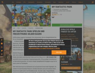 my-fantastic-park.browsergames.de screenshot