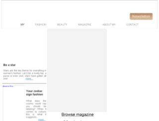 my-fashionmagazine.com screenshot