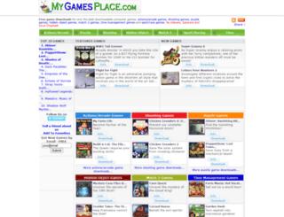 my-games-place.com screenshot
