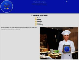 my-gastro-app.de screenshot