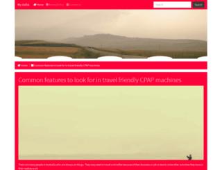 my-india.net screenshot