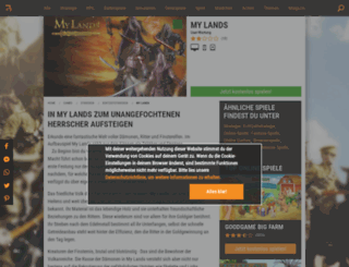 my-lands.browsergames.de screenshot
