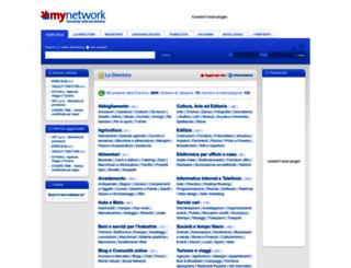 my-network.it screenshot