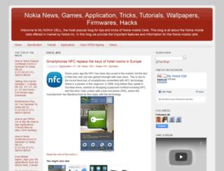 my-nokia-cell.blogspot.in screenshot
