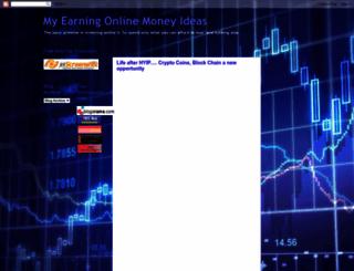 my-online-earning-life.blogspot.com screenshot