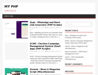 my-php.host screenshot