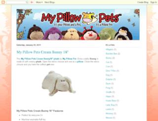 my-pillow-pet.blogspot.com screenshot