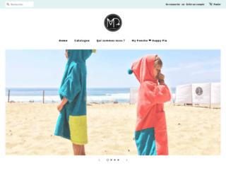 my-poncho.com screenshot