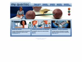 my-quantec.cl screenshot
