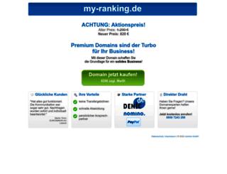 my-ranking.de screenshot