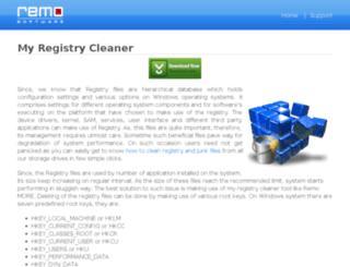 my-registrycleaner.com screenshot