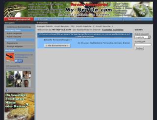 my-reptile.com screenshot