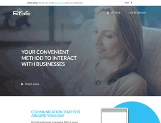 my-rise.com screenshot