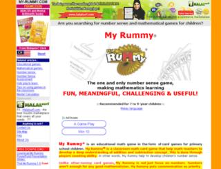 my-rummy.com screenshot