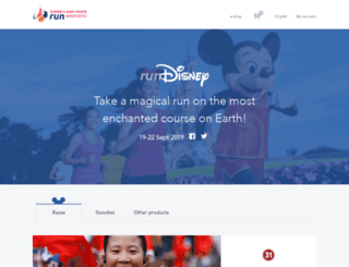 my-run.disneylandparis.com screenshot