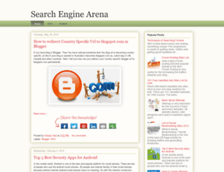 my-seo-list.blogspot.com screenshot