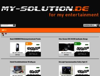 my-solution.de screenshot
