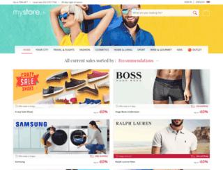 my-store.ch screenshot