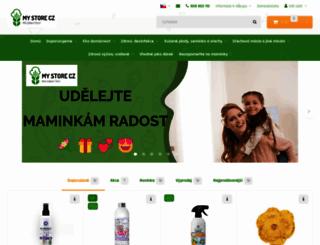 my-store.cz screenshot
