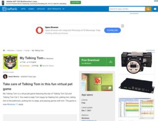 my-talking-tom.en.softonic.com screenshot