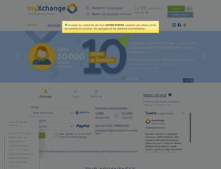 my-xchange.biz screenshot