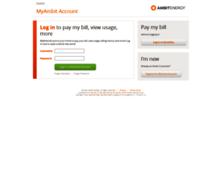my.ambitenergy.com screenshot