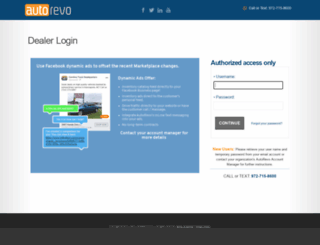 my.autorevo.com screenshot