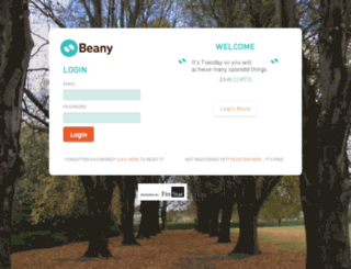 my.beany.biz screenshot