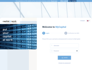 my.capitalatwork.com screenshot