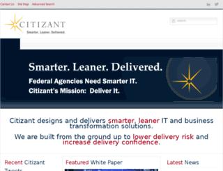 my.citizant.com screenshot
